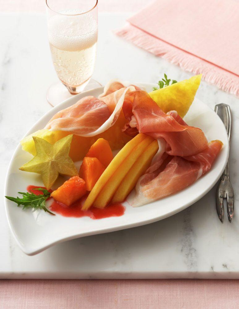 Prosciutto and Melon Platter