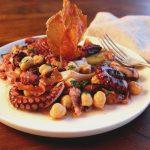 Octopus Saltimbocca