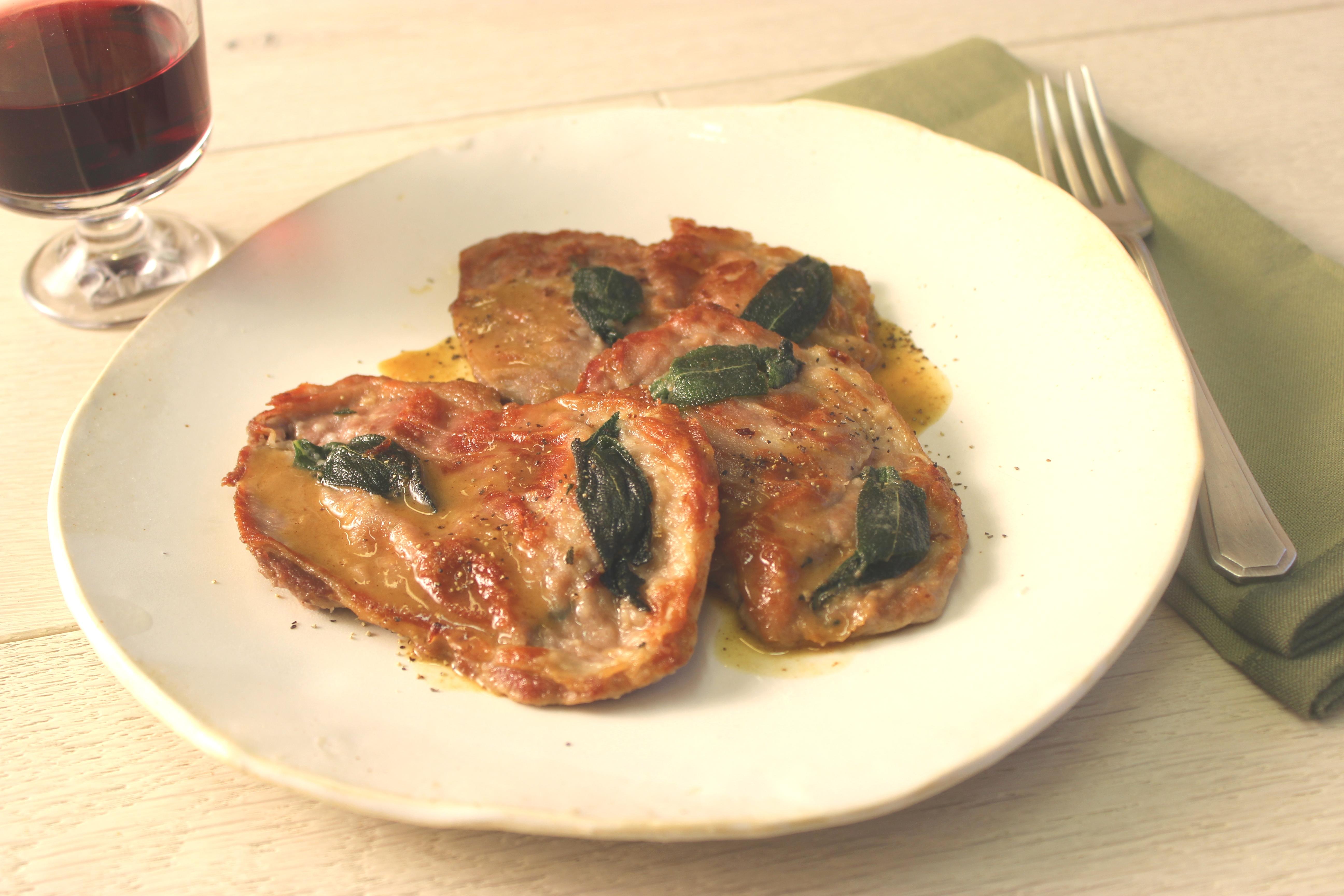 Prosciutto Wrapped Chicken Saltimbocca Alla Romana ...